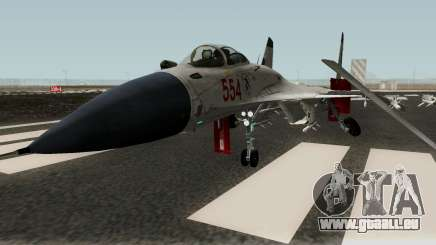 Shenyang J-15 pour GTA San Andreas