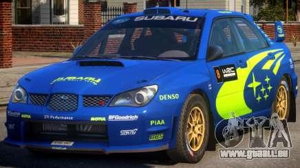 Subaru Impreza WRX STi PJ1 für GTA 4