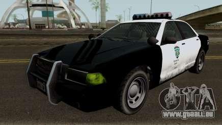 Police Stanier R.P.D. GTA V IVF pour GTA San Andreas