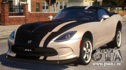 Dodge Viper 2013 PJ4 für GTA 4