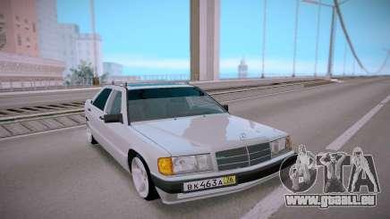 Mercedes-Benz 190E Classic für GTA San Andreas