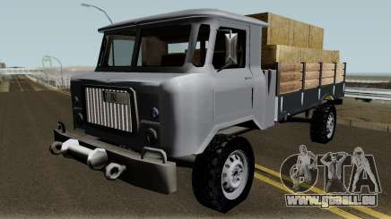 Farm GAZ 66 Low-poly für GTA San Andreas