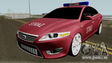 Ford Mondeo Polskiej Strazy Pozarnej für GTA San Andreas