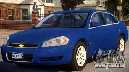 2010 Chevrolet Impala LS pour GTA 4