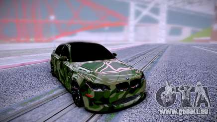 BMW M5 E60 Camo pour GTA San Andreas