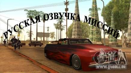 Russische Stimme v3 für GTA San Andreas
