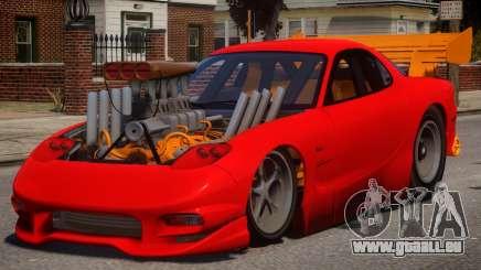 Mazda RX7 Dragster V1.1 für GTA 4