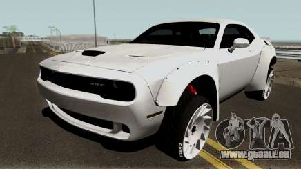 Dodge Challenger SRT Hellcat Rocket Bunny 2015 pour GTA San Andreas