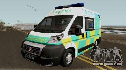 Fiat Ducato Geo Ambulance für GTA San Andreas
