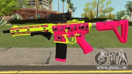 GTA Online Gunrunning Carbine Rifle MK.II Pink für GTA San Andreas