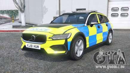 Volvo V60 T6 2018 Police [ELS] [replace] für GTA 5