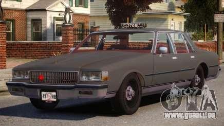 1985 Chevrolet Caprice Taxi für GTA 4