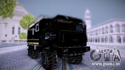 Wohn-Modul Ural 4320-4971-80Е5, USST für GTA San Andreas