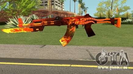 Rules Of Survival AK47 pour GTA San Andreas