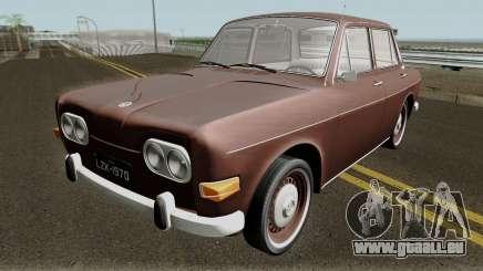 Volkswagen 1600 Sedan (Ze do Caixao) 1970 pour GTA San Andreas