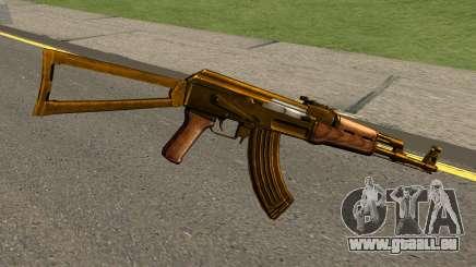 AK47 Gold pour GTA San Andreas