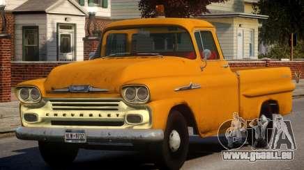 1958 Chevrolet Apache Used für GTA 4