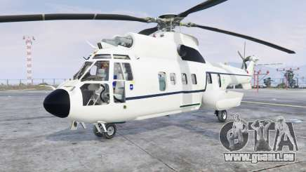 Aerospatiale AS.332L1 Super Puma v3.0 [add-on] pour GTA 5