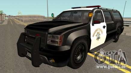 Declasse Granger SAHP Police GTA V IVF pour GTA San Andreas