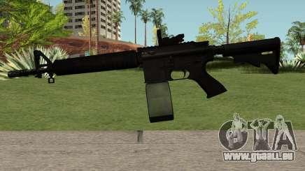 M4-A1 Black für GTA San Andreas