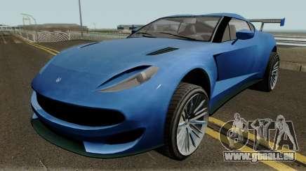 Cheval Taipan GTA V pour GTA San Andreas