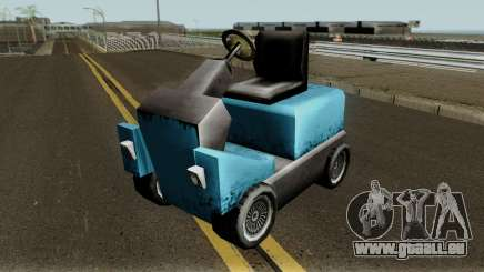 New Caddy pour GTA San Andreas