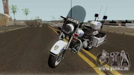 GTA TBoGT Police Bike für GTA San Andreas