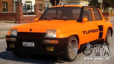 Renault 5 Turbo V2 für GTA 4