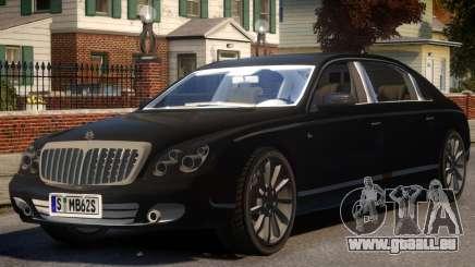 2009 Maybach 62 S für GTA 4