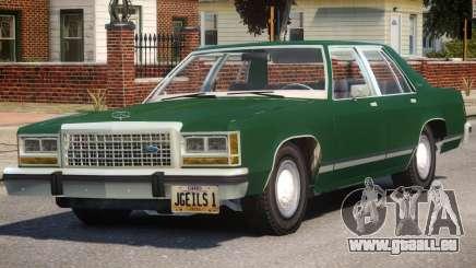 1983 Ford Crown Victoria für GTA 4