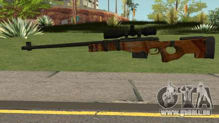 The Walking Dead Andrea Comic Weapon für GTA San Andreas
