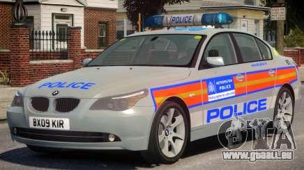 BMW 525D E60 Met Police für GTA 4