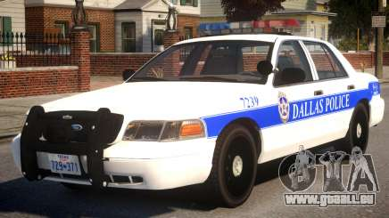 2008 Ford Crown Victoria pour GTA 4