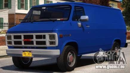 1983 GMC Vandura G-1500 V1 pour GTA 4