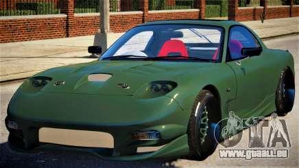 Mazda RX-7 KJC V1.1 pour GTA 4