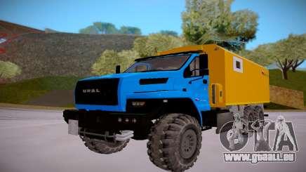 Neben Ural 4320 Transport von Sprengstoffen für GTA San Andreas