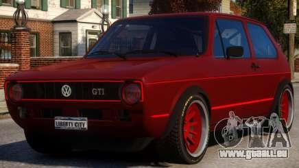 VW Golf GTI MK1 für GTA 4