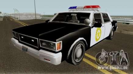 Springfield PD Cruiser für GTA San Andreas