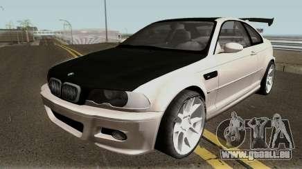 BMW M3 E46 HQ für GTA San Andreas