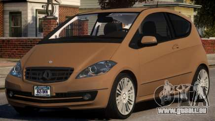 Mercedes Benz A 200 Turbo V1.4 pour GTA 4