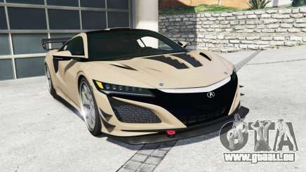 Acura NSX 2017 [replace] pour GTA 5