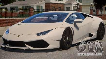 Lamborghini Huracan Liberty Walk pour GTA 4