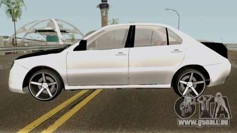 Ikco Dena V2 Sport pour GTA San Andreas laissé vue