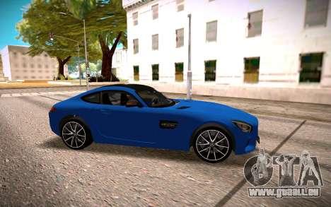 Mercedes-Benz GTS pour GTA San Andreas laissé vue