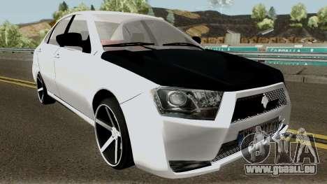 Ikco Dena V2 Sport pour GTA San Andreas vue intérieure