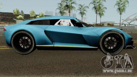 Rezvani Beast Alpha pour GTA San Andreas vue arrière