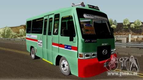 Buseta Mazda T für GTA San Andreas Innenansicht