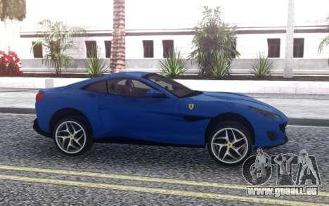 Ferrari Portofino 2018 für GTA San Andreas linke Ansicht