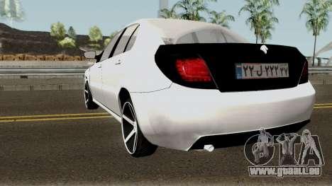Ikco Dena V2 Sport pour GTA San Andreas sur la vue arrière gauche