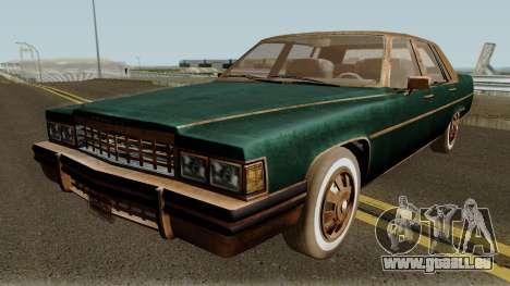 Cadillac Fleetwood Beaten 1985 v1 pour GTA San Andreas